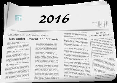 Zeitungsberichte 2016