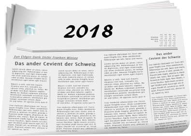 Zeitungsberichte 2018