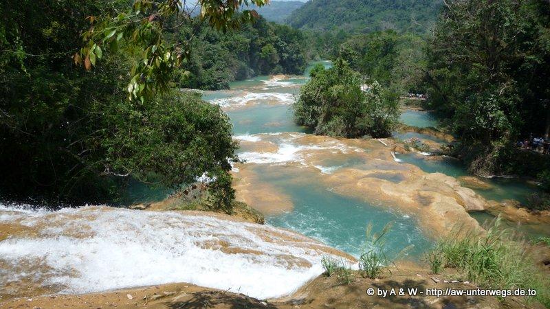 Foto Wasserfall Aguas azul