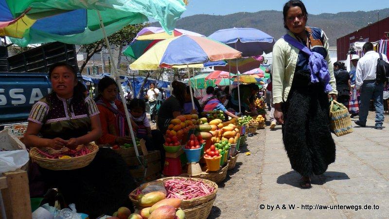 Foto vom Markt in San Cristóbal de las Casas