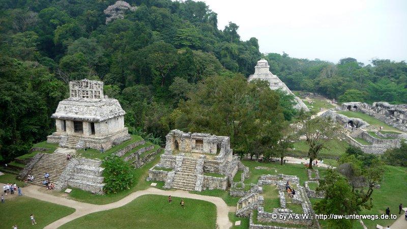 Foto Sonnentempel Palenque