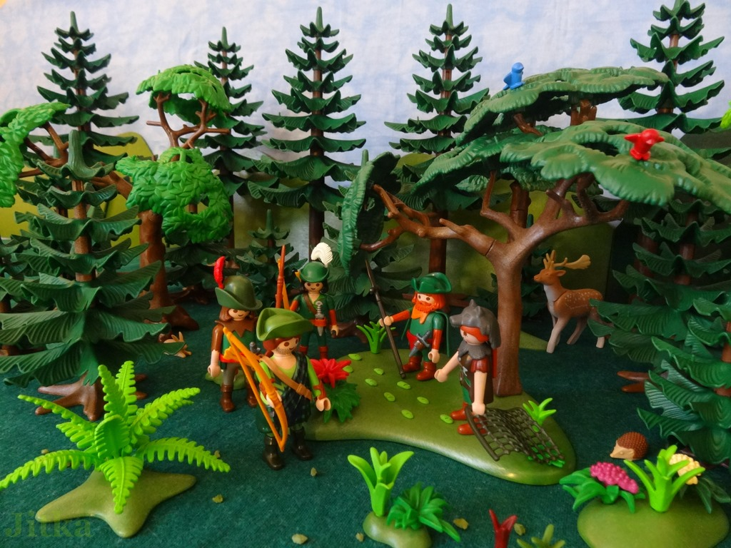 Bild die Jäger im Wald haben Thoralfs Spuren gefunden