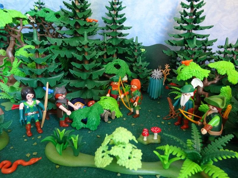 Foto Die Jäger vergraben die Leichen und der Zauberer macht sich auf den Weg zum König