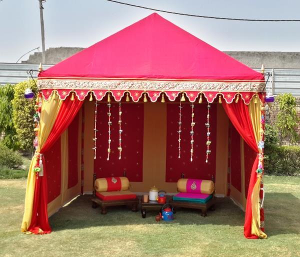 Verkauf Zelt aus der Orient, Orientalischer Partyzelt kaufen Shamiana, The Mughal Tent,  verkauf shamyana