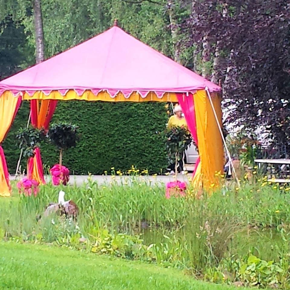 Geburtstagfeier  Elten Orientalische Zelte