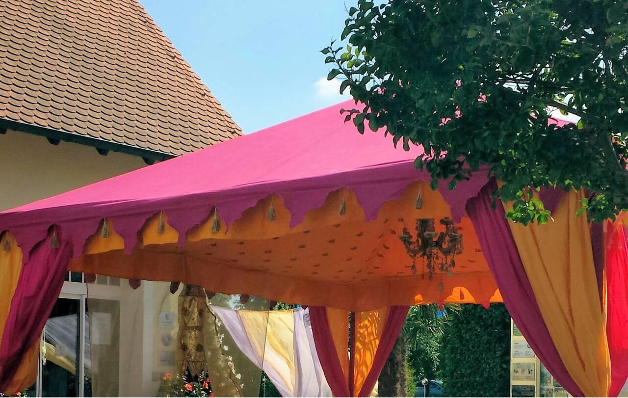 spezielle zelte, spezielle partyzelte, orientalische zelte