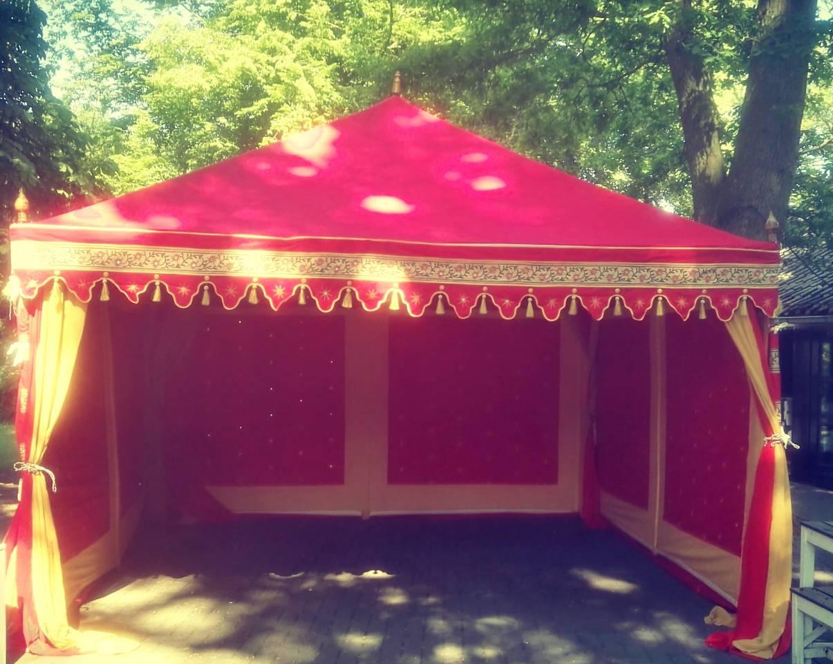 Orienttal Red auf ein Party, Orientalische Zelte Mieten