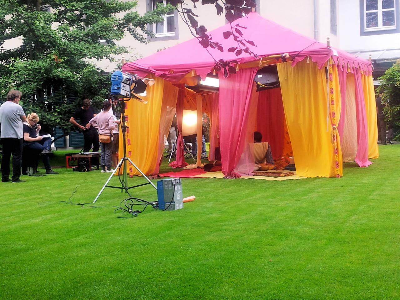 RTL-D Koln Kaya Anar 1001 Nachten dekor mit Orientalische Zelte