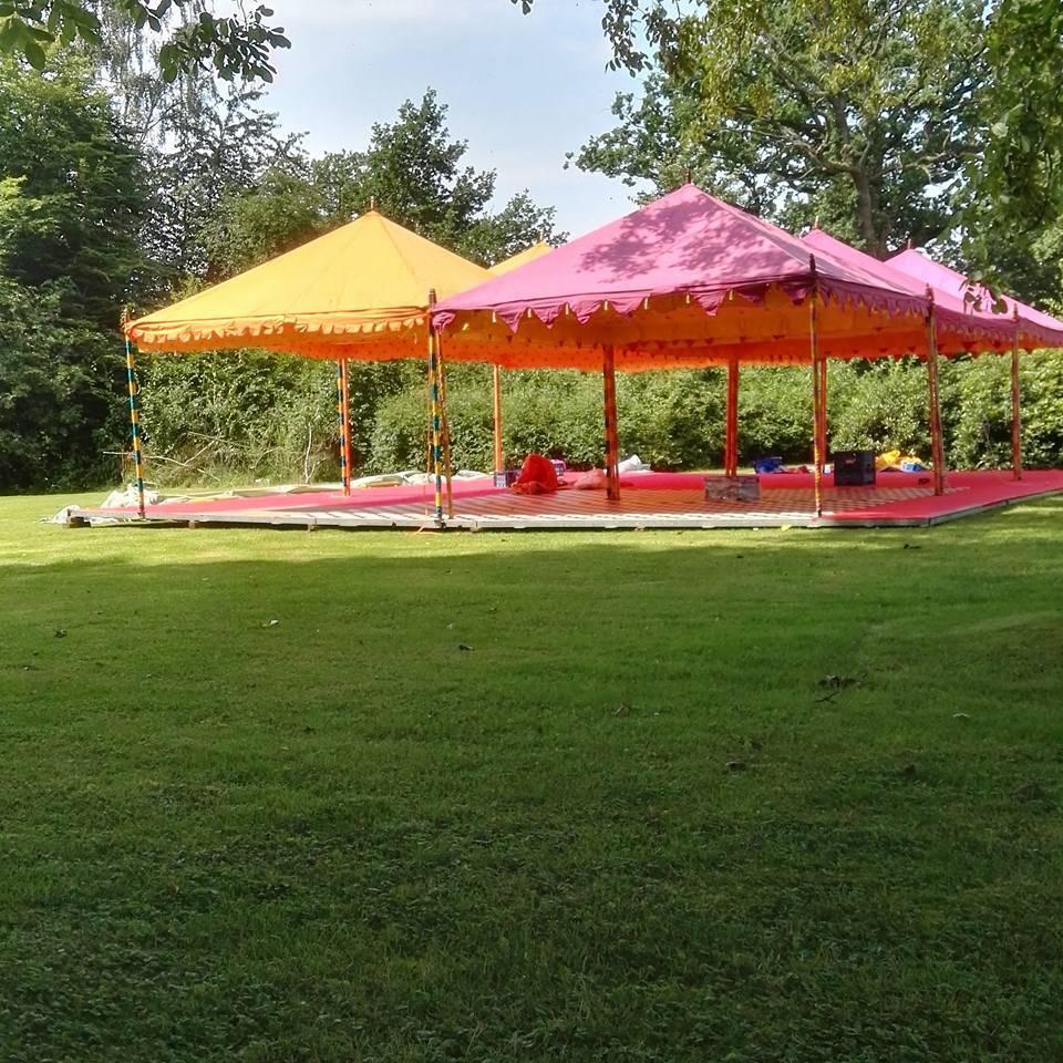 Kiel Hochzeit mit Orientalische Zelte