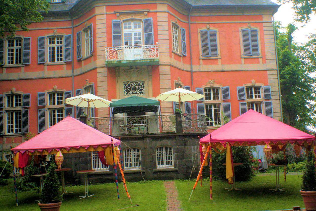 Koln Schloss Dormagen Hochzeit mit Orientalische Zelte