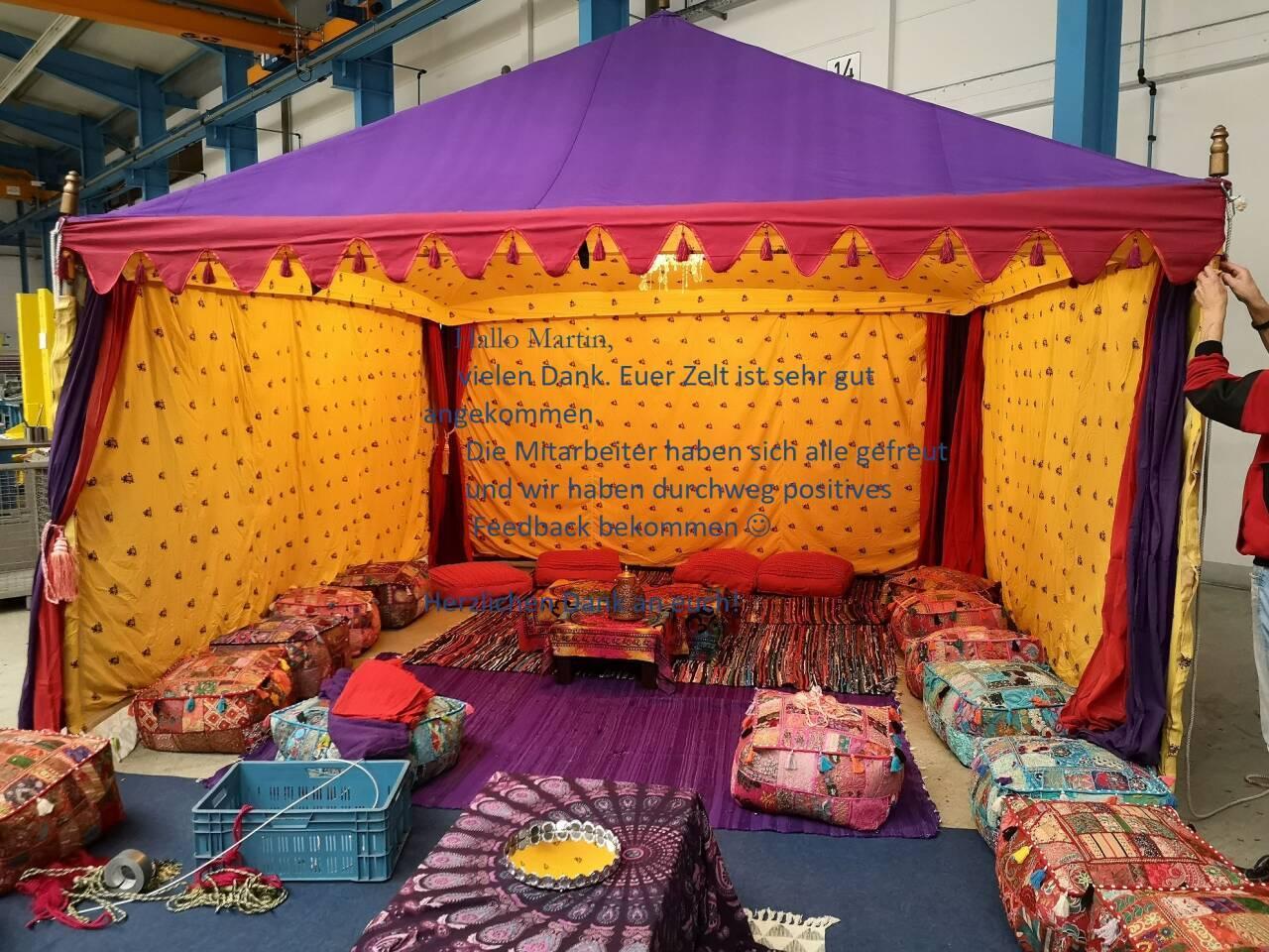 Orientalische zelte betriebsfest