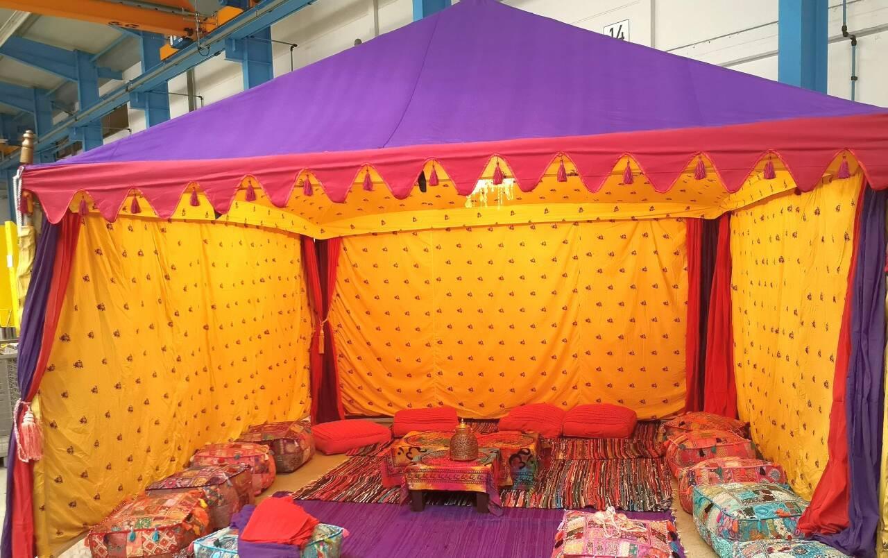 orientalische event dekoration