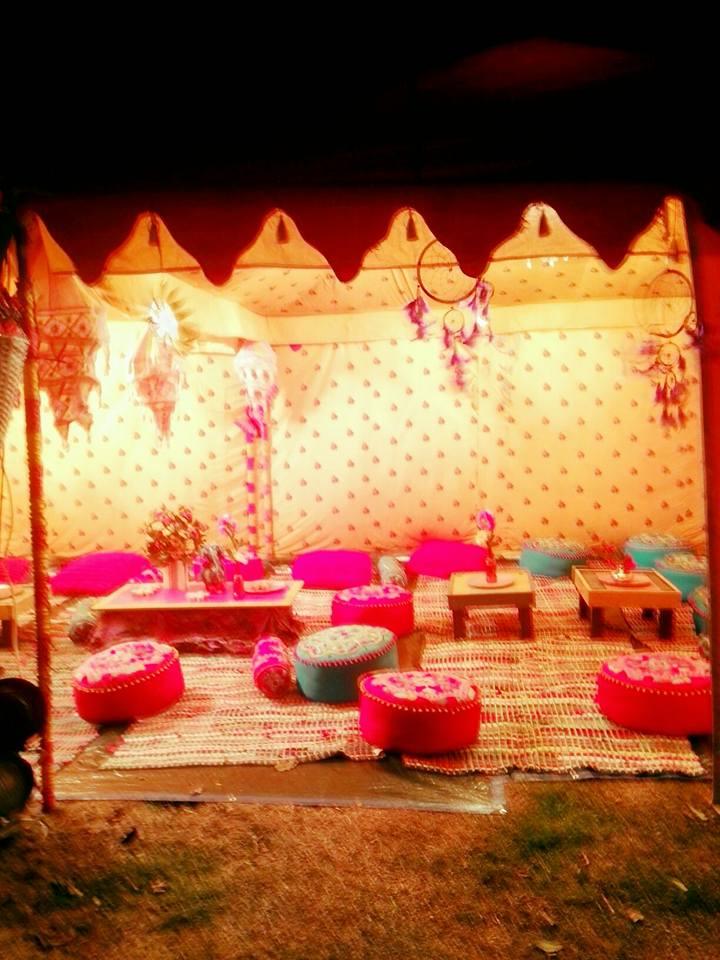 Wesel Betriebsfest 1001 nachten Orientalsiche Zelte