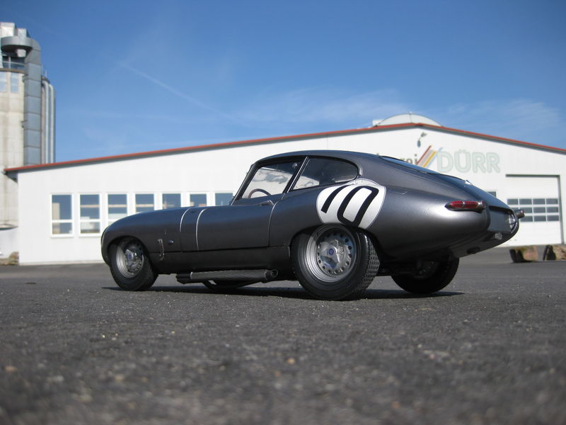 Jaguar XKE Race 1/8