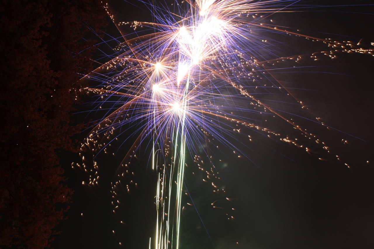 Feuerwerk zum selber zünden im Westerwald