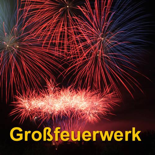 Großfeuerwerk im Westerwald