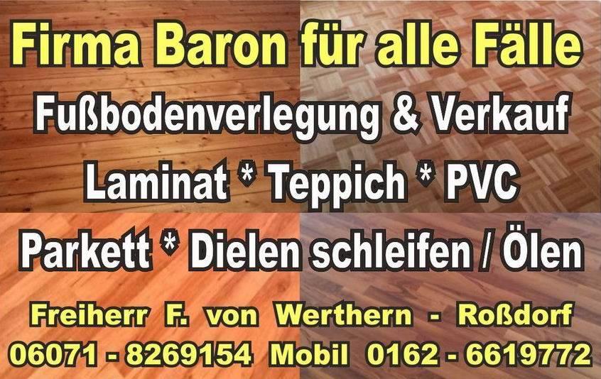 Firma Baron für alle Fälle, Handwerker, Fußbodenleger, Firma  Baron  für  alle  Fälle     Raumausstatter - Massivholz Bodenleger -  Renovierungen -Dielenboden Dielenboden - Verlegung - Restaurierung und Sanierung, Aufbereitung / Aufarbeitung verschlissener Stellen.