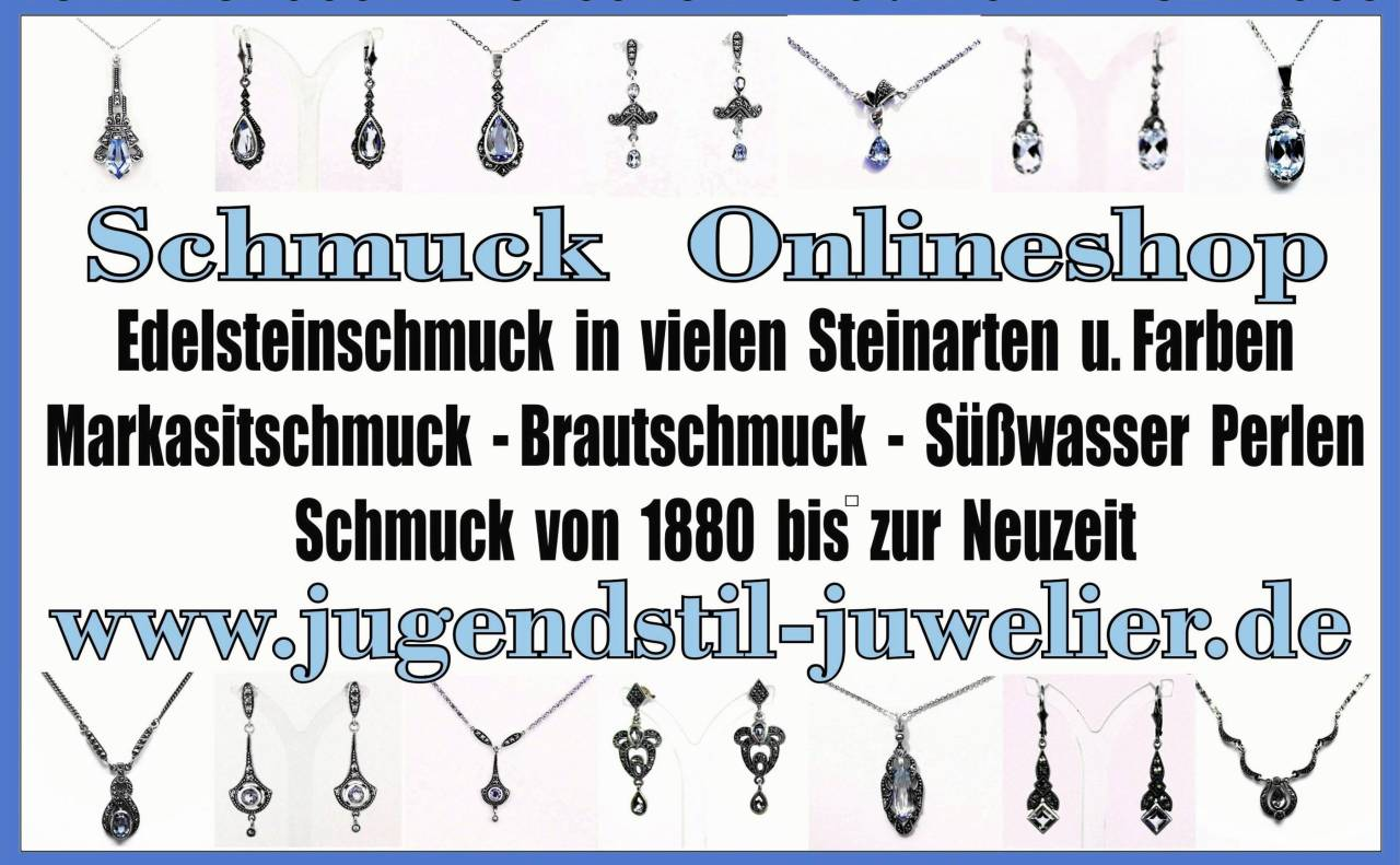Jugendstil Juwelier, Schmuck Onlineshop, Schmuck webshop, Jugendstilschmuck, Darmstadt-Jugendstil-schmuck,