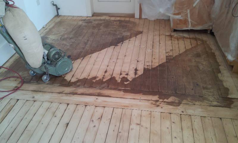 Firma  Baron  für  alle  Fälle    Handwerker - Raumausstatter - Fußbodenleger - Dielenboden Dielenboden - Verlegung - Restaurierung und Sanierung, Aufbereitung / Aufarbeitung verschlissener Stellen...