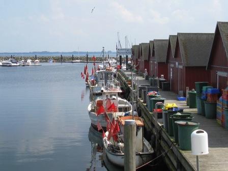 Fischerhafen in Boltenhagen an der Nordsee