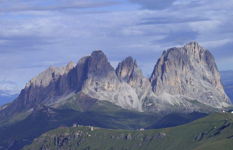 bergstürze in den dolomiten