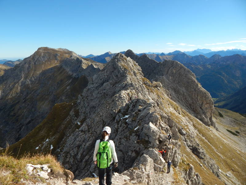 Hindelanger Klettersteig Wengenkopf : Hindelanger klettersteig bergtouren und biketouren im allgäu