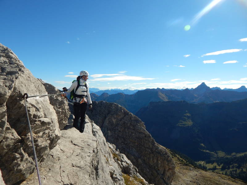 Klettersteig Nebelhorn : Hindelanger klettersteig bergtouren und biketouren im allgäu