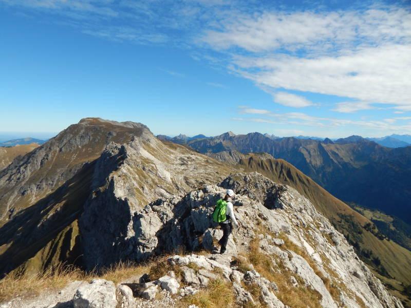 Hindelanger Klettersteig Wengenkopf : Stefan mitterer