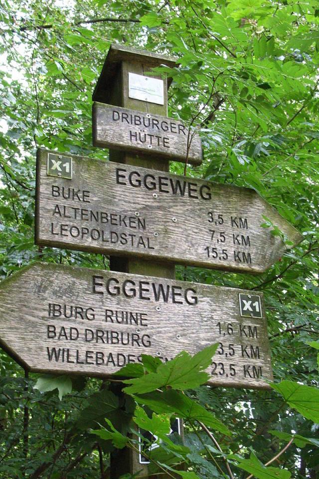 Teutoburgerwald wandelen
