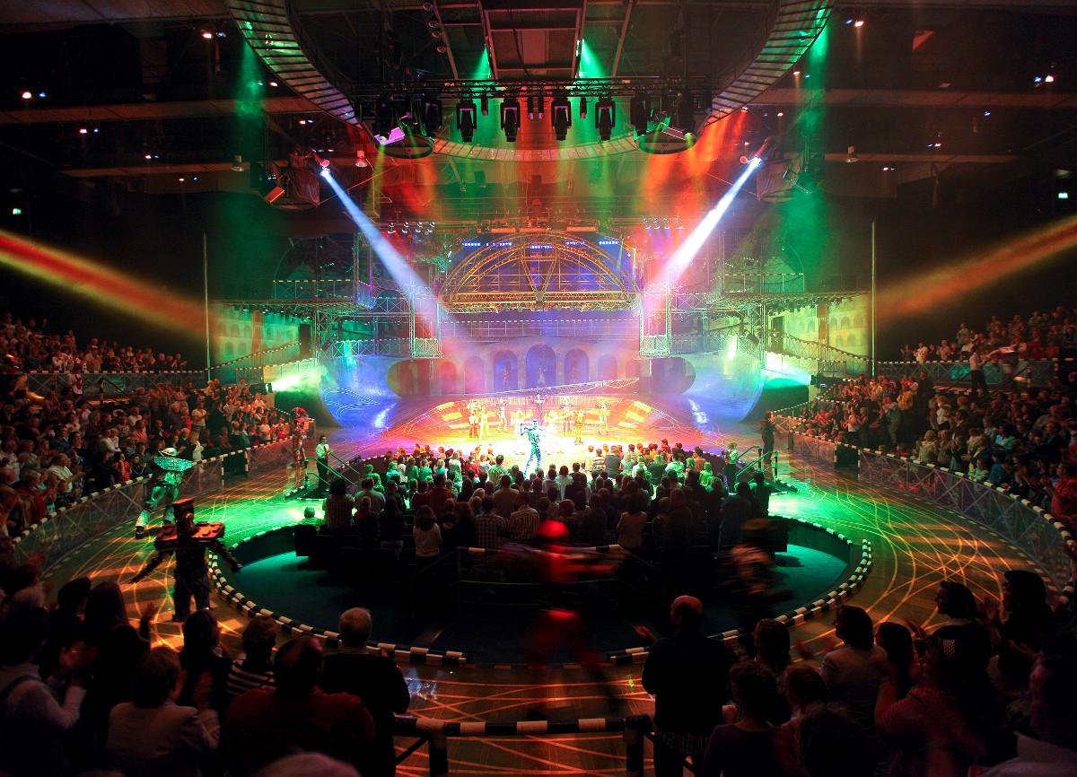 Starlight Express Theater Lightshow