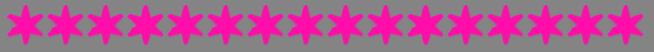 Balkentrenner Sterne - Pink