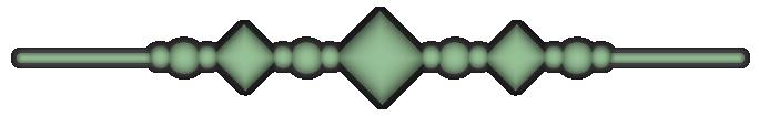 Balkentrenner - Grün