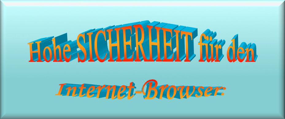 Sicherheit für den Browser