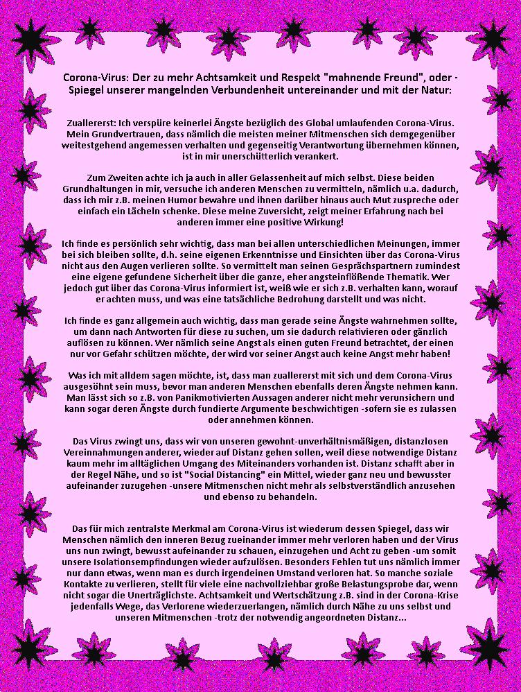 Tiefenpsychologische Corona-Sichtweisen