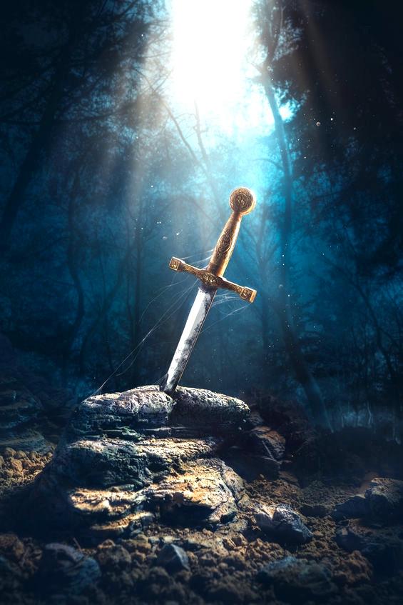 Das magische Schwert der Herzensreinheit und Weisheit