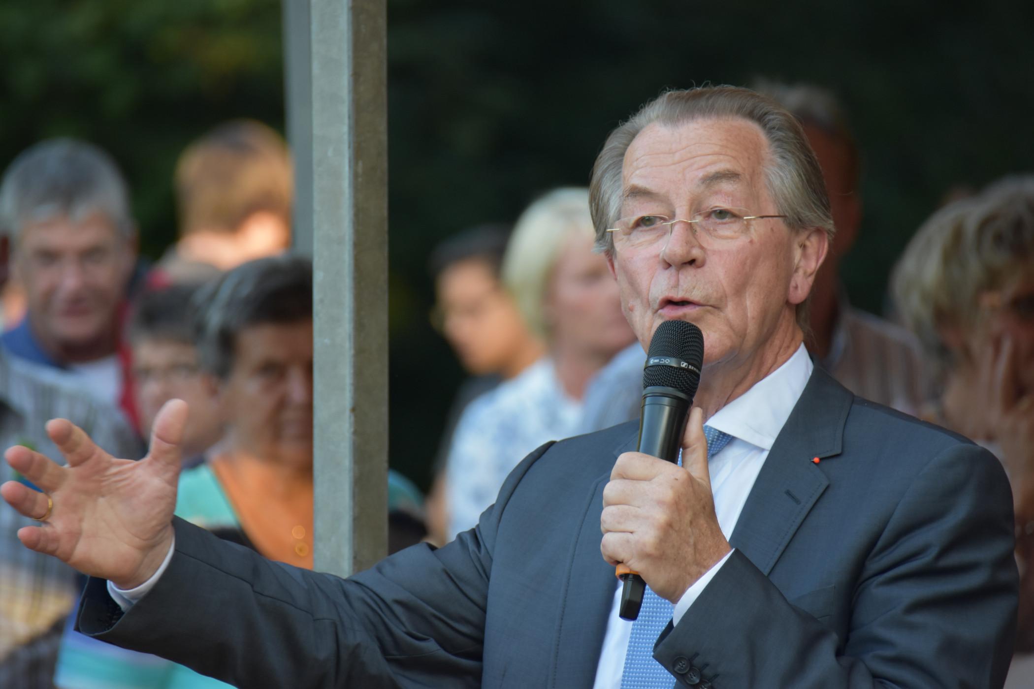 Ehemaliger Bundesvorsitzender der SPD - Franz Muentefering