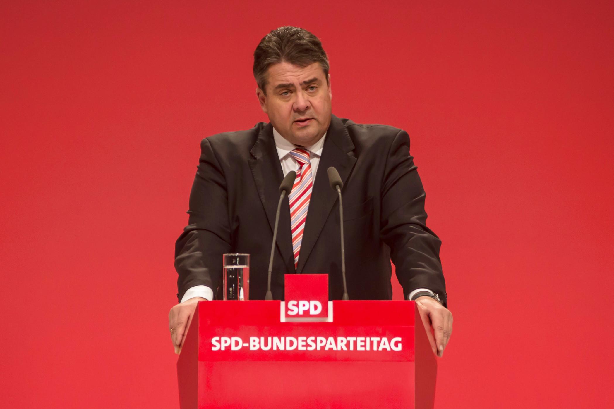 """Ehemaliger Vizekanzler der SPD - """"Sigmar Gabriel"""""""