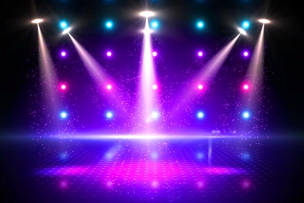 Tanzfläche Diskothek Lichter
