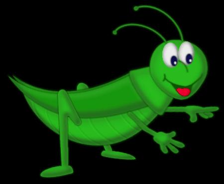 Grashuüpfer - Fröhlich -Grün