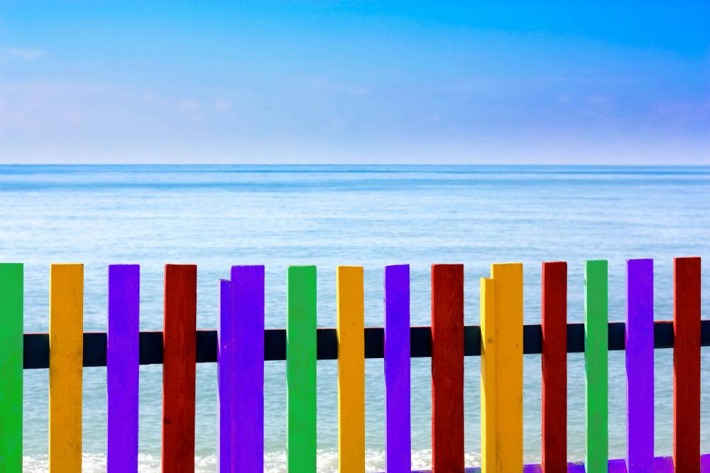 Grenze zum Meer