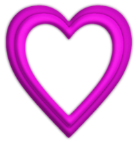 Herz-Rahmen-Pink-Links