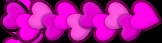 Herz-Ranke Pink