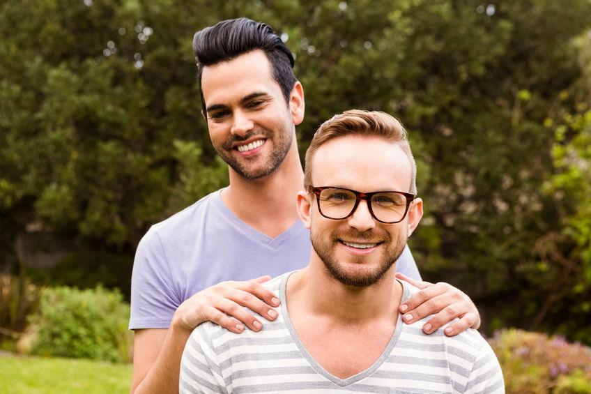 Homosexuelles Männerpaar