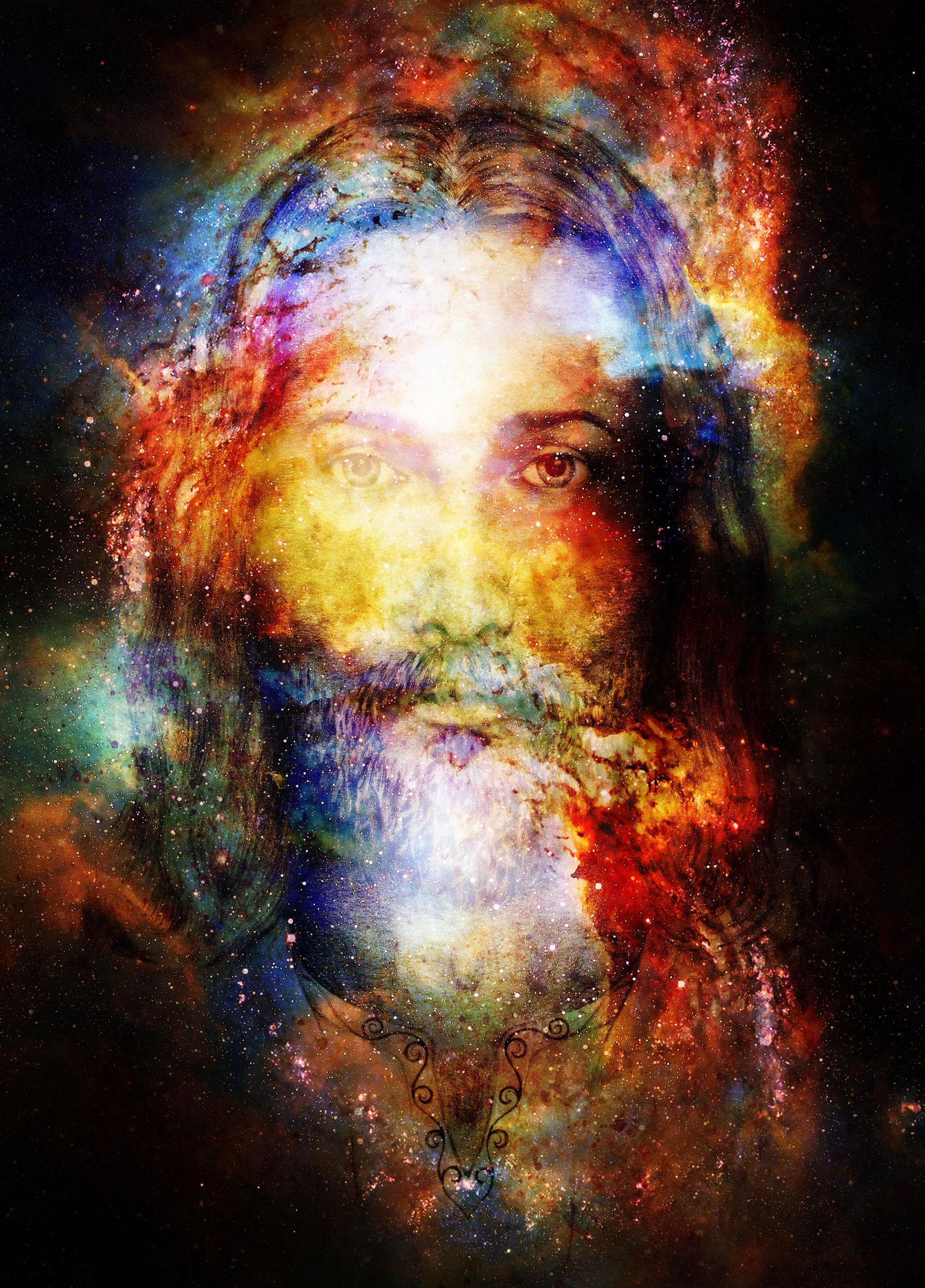 Jesus Christus - Colorful Mystic