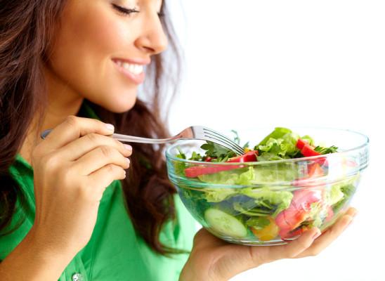 Jungbrunnen: Salat!