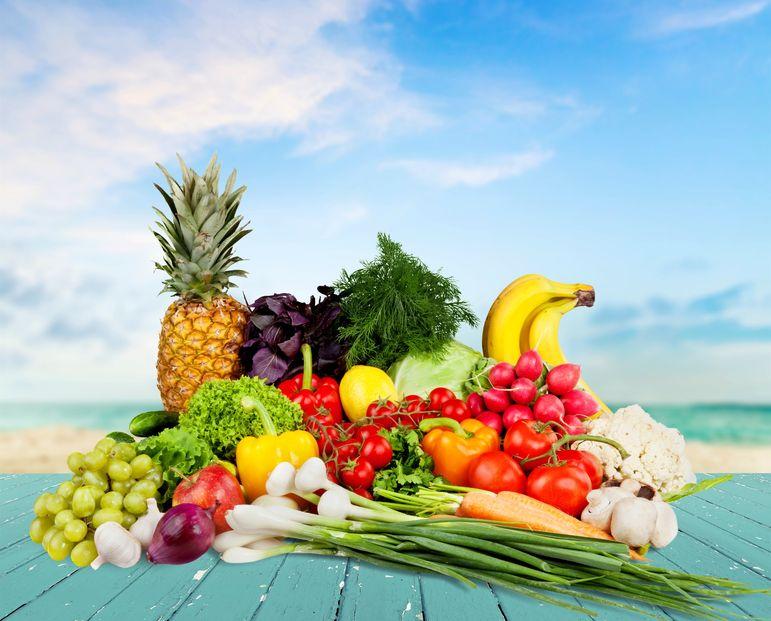 Körperliches Wohlbefinden durch Obst und Gemüse