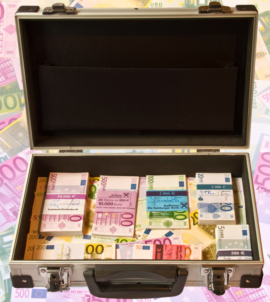 Koffer Geld