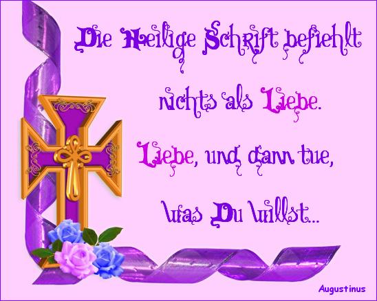 Kreuz Ornament Augustinus
