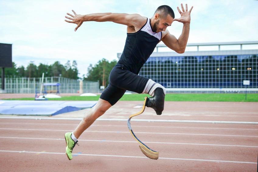 Laufsport trotz Behinderung