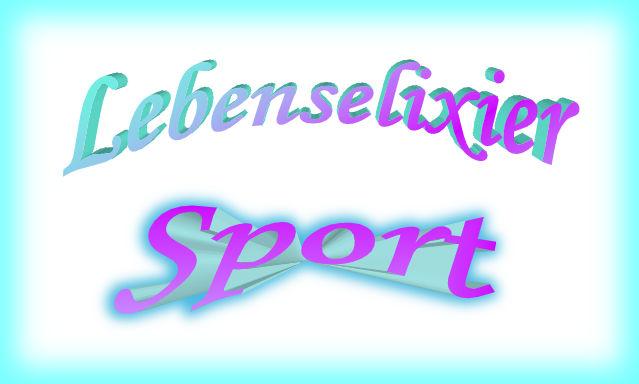 Lebenselexier Sport